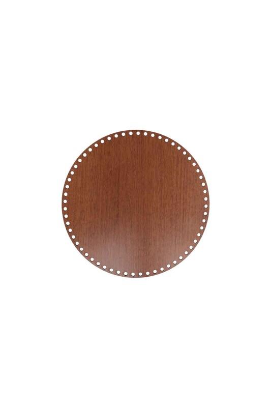 SİMİSSO - Деревянная круглая основа 30x30