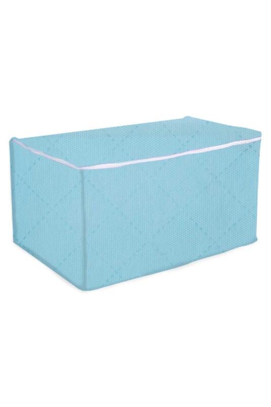 SİMİSSO - Нетканый органайзер для одежды 50*30*25/светло-голубой