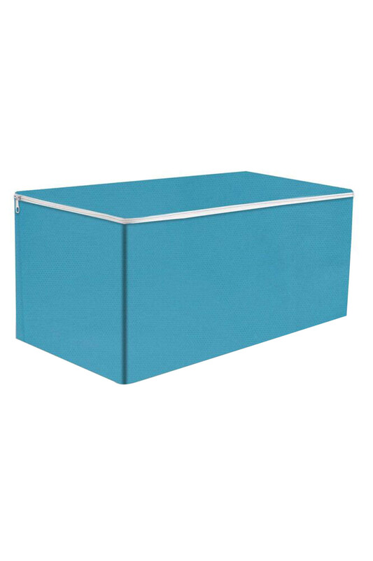 SİMİSSO - Нетканый органайзер для одеял 96*48*39/голубой