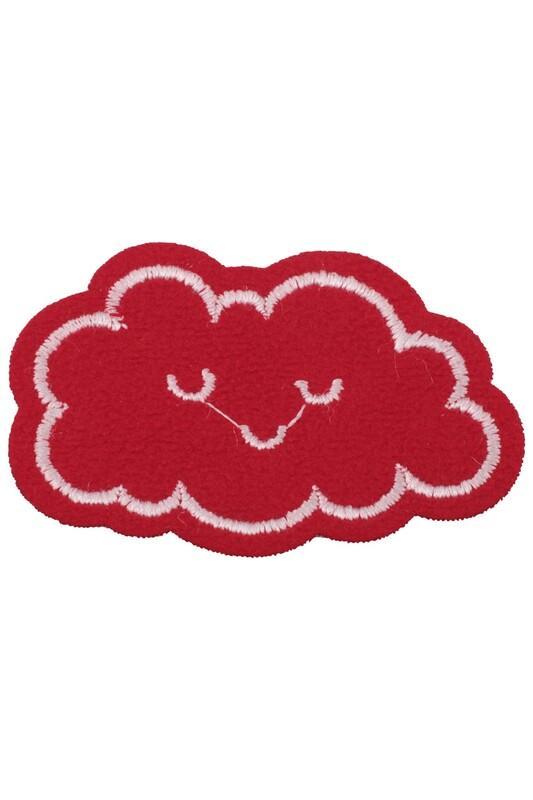 SİMİSSO - Yapışkan Bulut Şekilli Arma Kırmızı