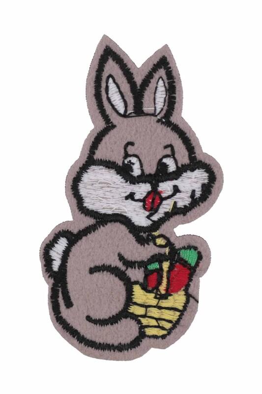 SİMİSSO - Yapışkan Tavşan Şekilli Arma