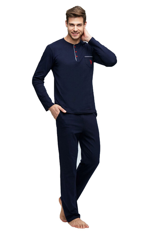 U.S. POLO - Пижама U.S.Polo 17394/синий