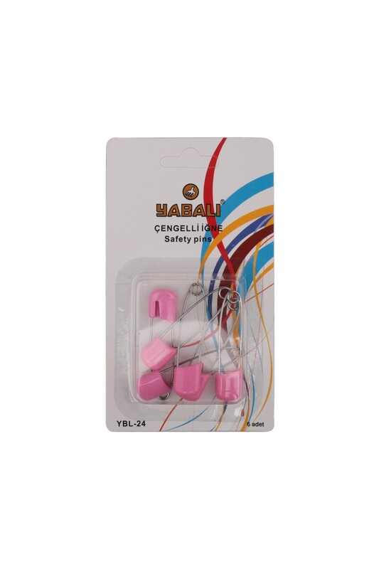 YABALI - Булавки YBL-24 6 шт.| розовый