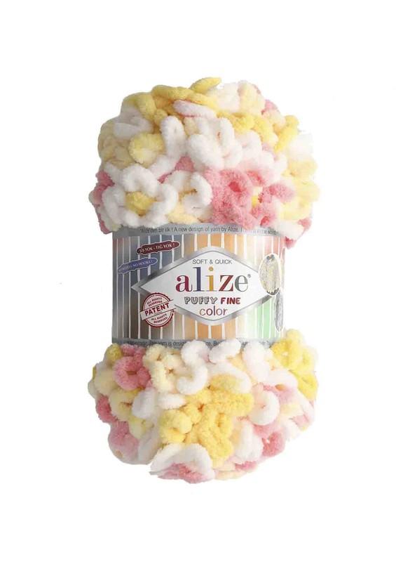Alize - Alize Puffy Fine Color El Örgü İpi 5942