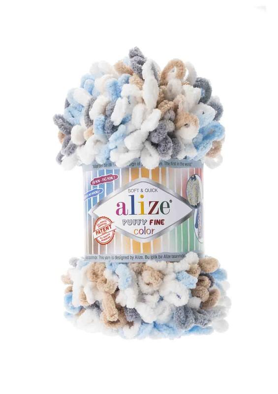Alize - Alize Puffy Fine Color El Örgü İpi 5946