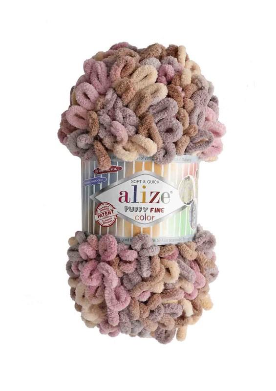 Alize - Alize Puffy Fine Color El Örgü İpi 6033