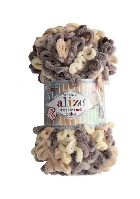 Alize - Alize Puffy Fine Color El Örgü İpi 6034