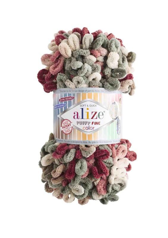 Alize - Alize Puffy Fine Color El Örgü İpi 6039