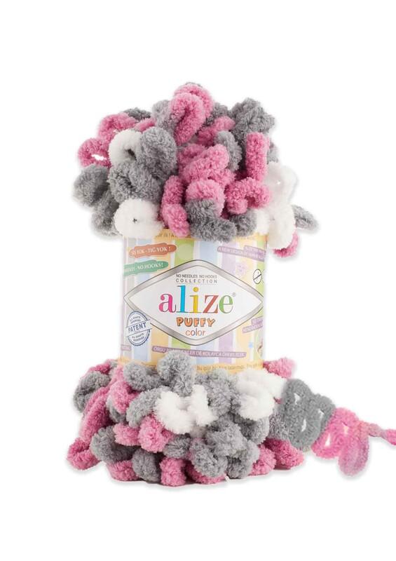 Alize - Alize Puffy Color El Örgü İpi 6070