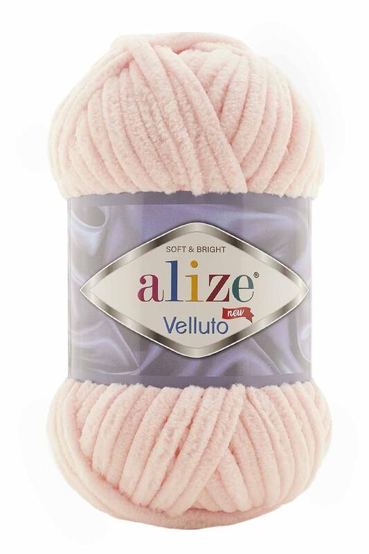 Alize - Alize Velluto El Örgü İpi 100 gr | Pudra Pembe 340