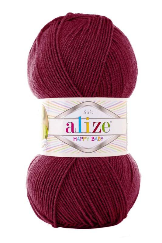 Alize - Alize Happy Baby El Örgü İpi Vişne 390