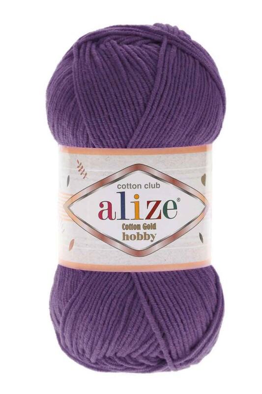 Alize - Alize Cotton Gold Hobby El Örgü İpi Mor 044