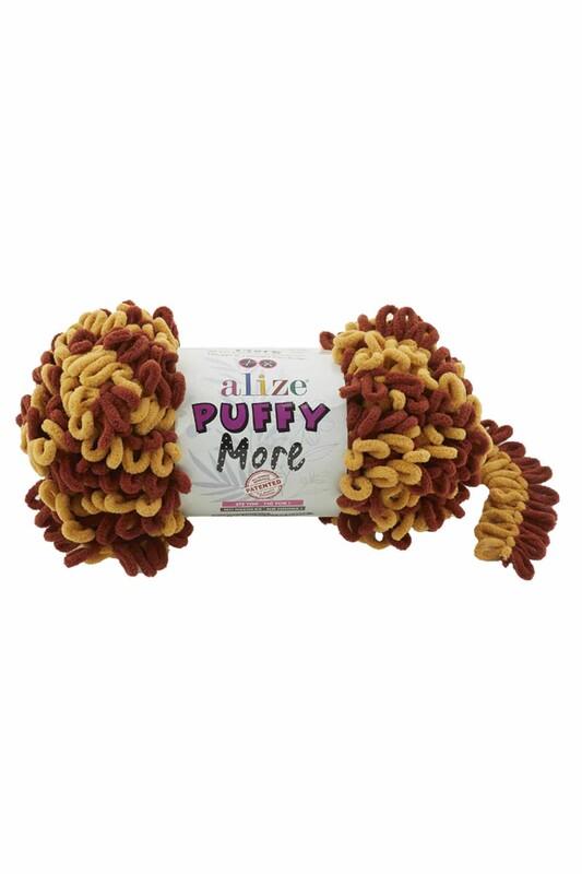 Alize - Alize Puffy More El Örgü İpi 150 gr | 6276