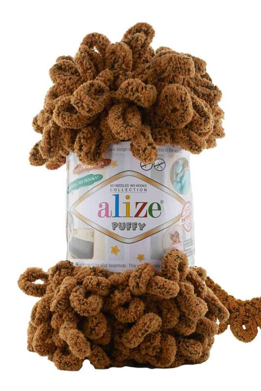 Alize - Alize Puffy El Örgü İpi Sincap 718