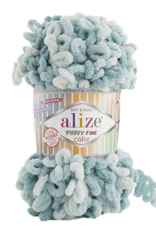 Alize - Alize Puffy Fine Color El Örgü İpi 6064