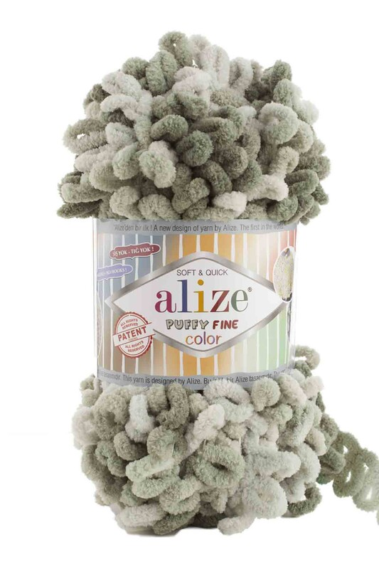 Alize - Alize Puffy Fine Color El Örgü İpi 6065