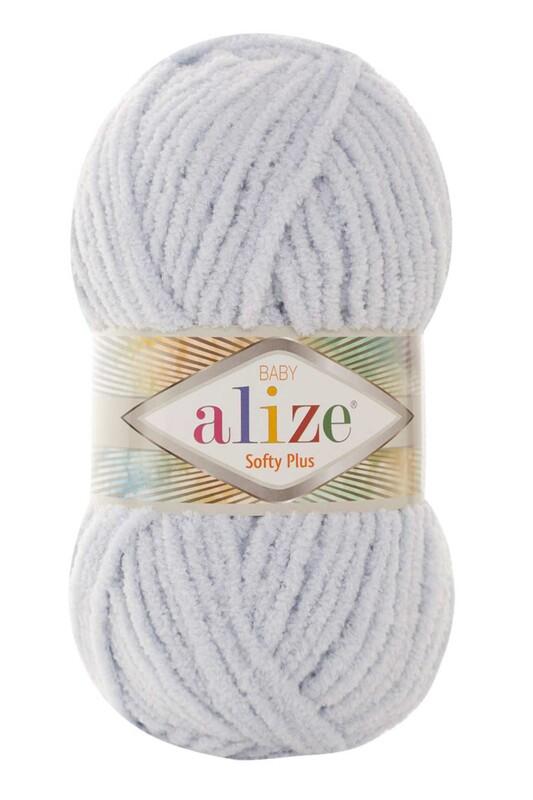 Alize - Alize Softy Plus El Örgü İpi Açık Gri 500