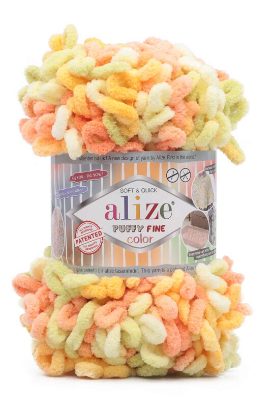 Alize - Alize Puffy Fine Color El Örgü İpi 6313