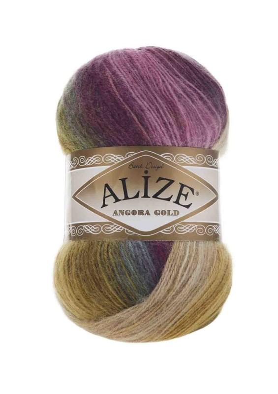 Alize - Alize Angora Gold Batik El Örgü İpi 4341
