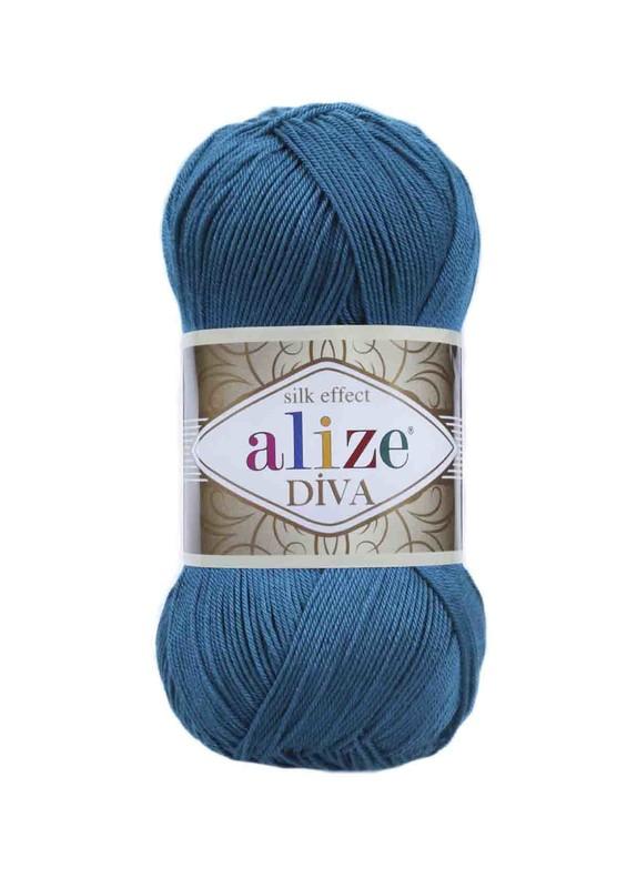 Alize - Alize Diva El Örgü İpi Mikanos Mavi 646