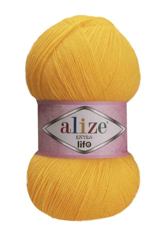 Alize - Alize Extra Life El Örgü İpi Sarı 914
