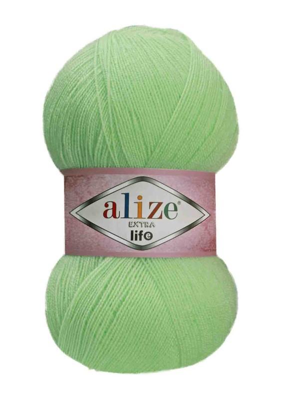 Alize - Alize Extra Life El Örgü İpi Yeşil 915