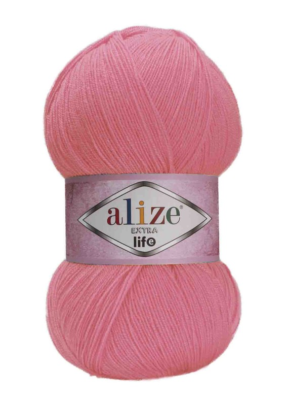 Alize - Alize Extra Life El Örgü İpi Mercan Pembe 930