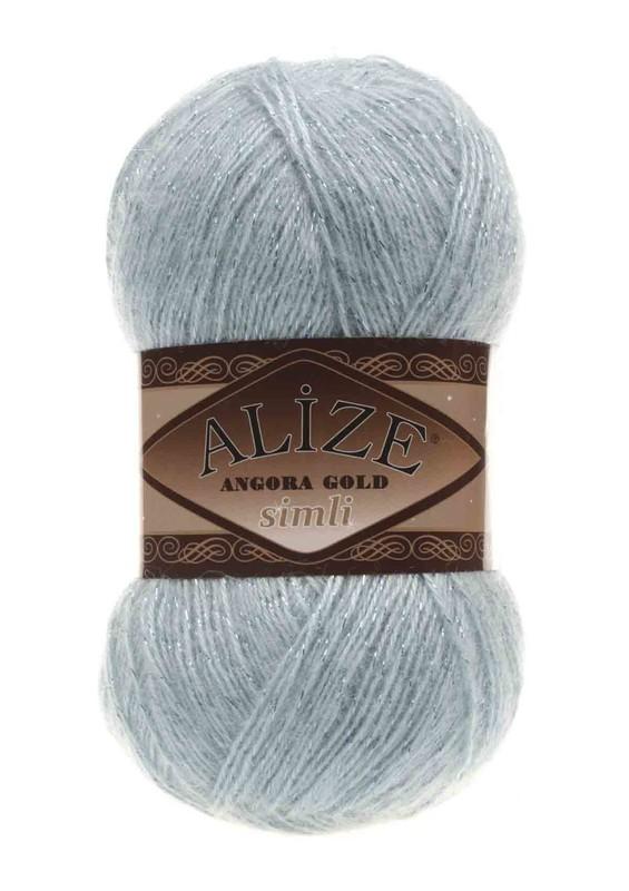 Alize - Alize Angora Gold Simli El Örgü İpi Mint 114