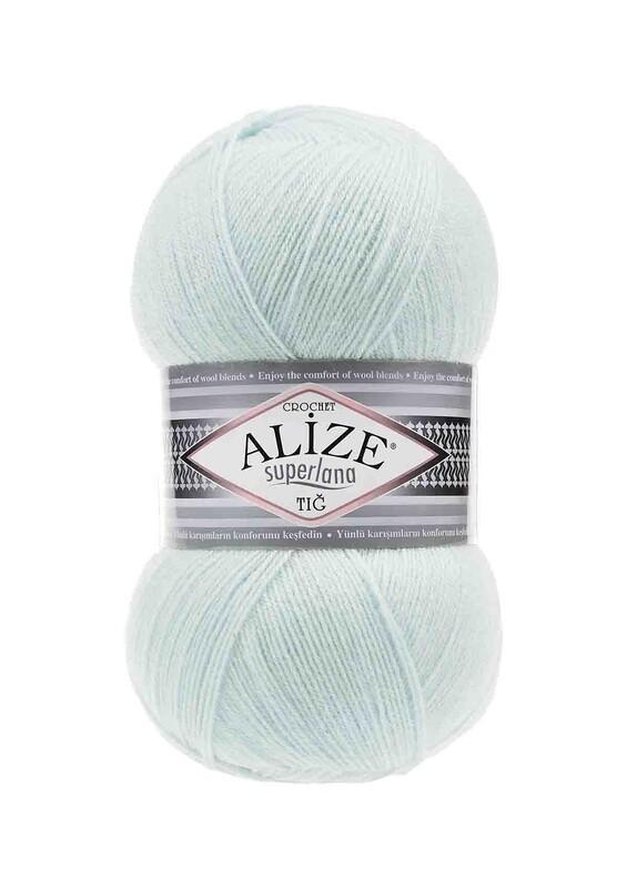 Alize - Alize Superlana Tığ El Örgü İpi Mint 522