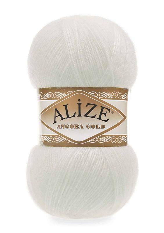 Alize - Alize Angora Gold El Örgü İpi Açık Krem 062