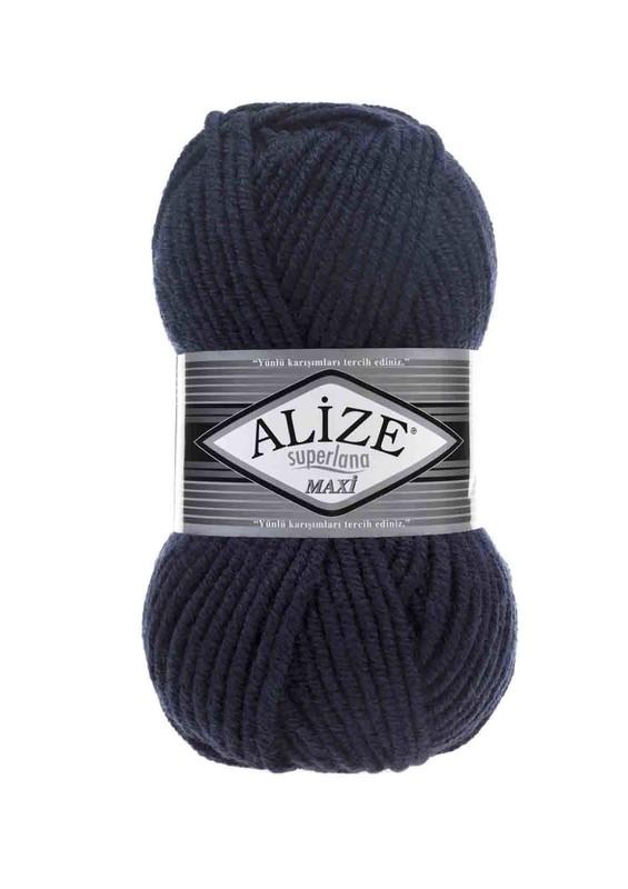 Alize - Alize Superlana Maxi El Örgü İpi Lacivert 058
