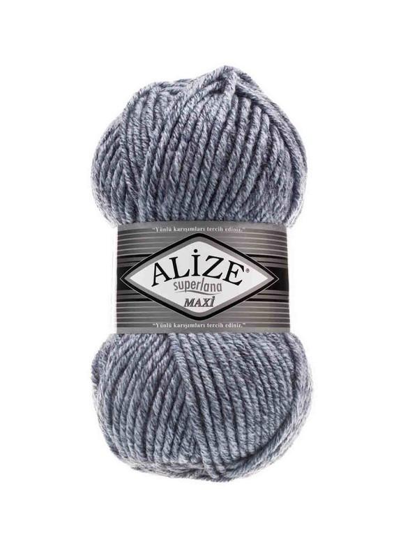 Alize - Alize Superlana Maxi El Örgü İpi Jaspe Mavi 806