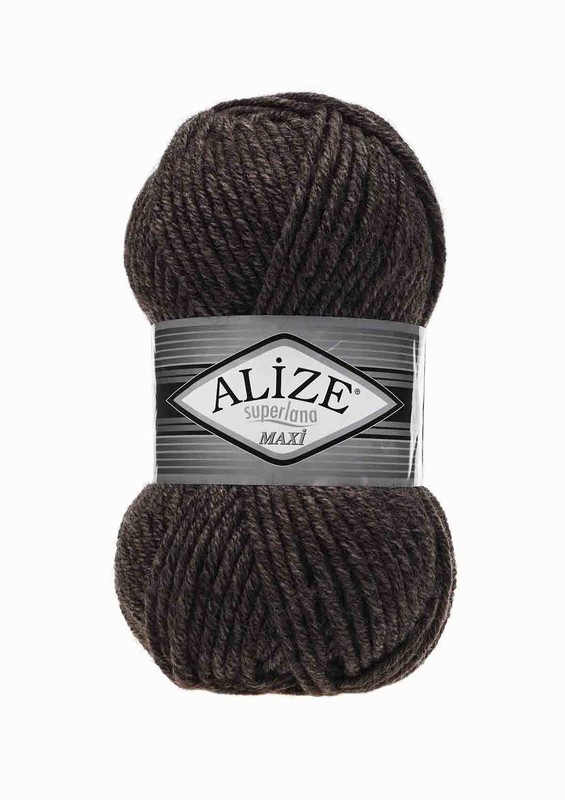 Alize - Alize Superlana Maxi El Örgü İpi Kahverengi 810