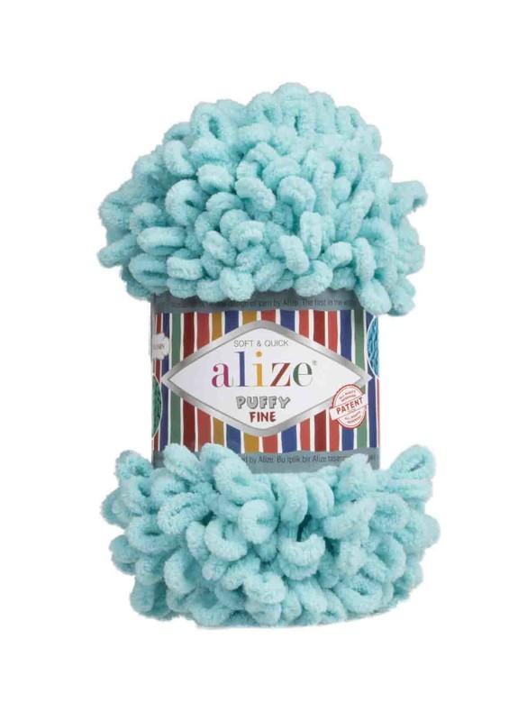 Alize - Alize Puffy Fine El Örgü İpi Turkuaz 263