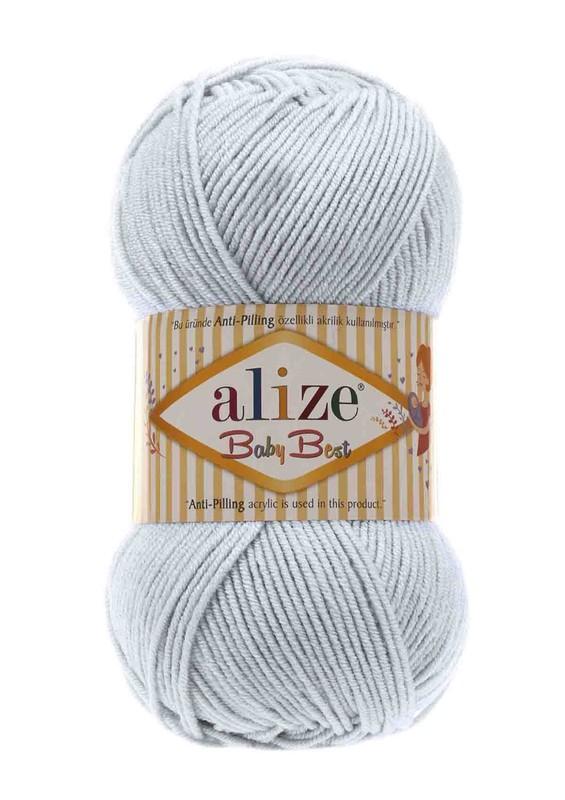 Alize - Alize Baby Best El Örgü ipi Açık Gri 224