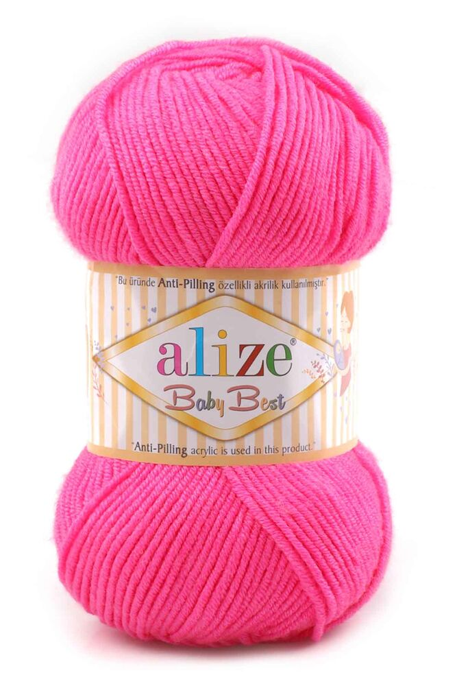 Alize Baby Best El Örgü ipi Pembe 561
