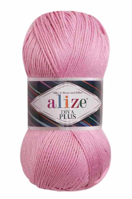 Alize - Alize Diva Plus El Örgü İpi Pembe 098