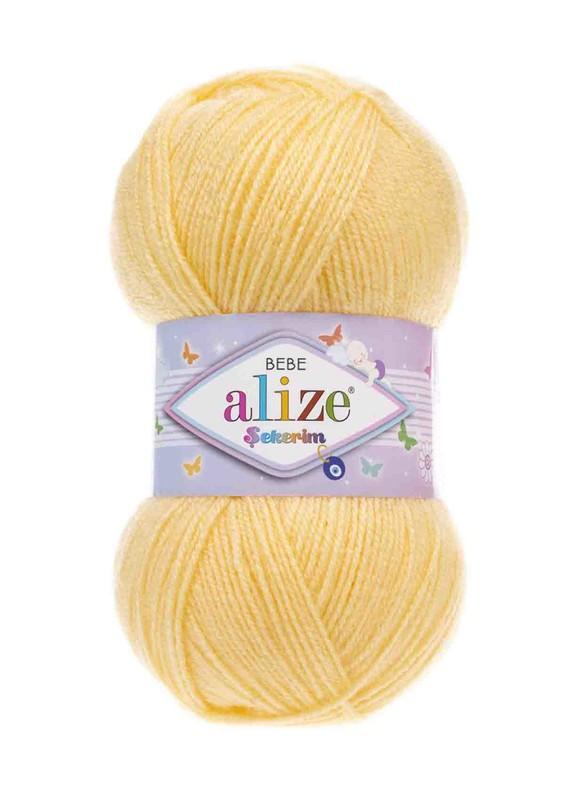 Alize - Alize Şekerim Bebe El Örgü İpi Açık Sarı 187