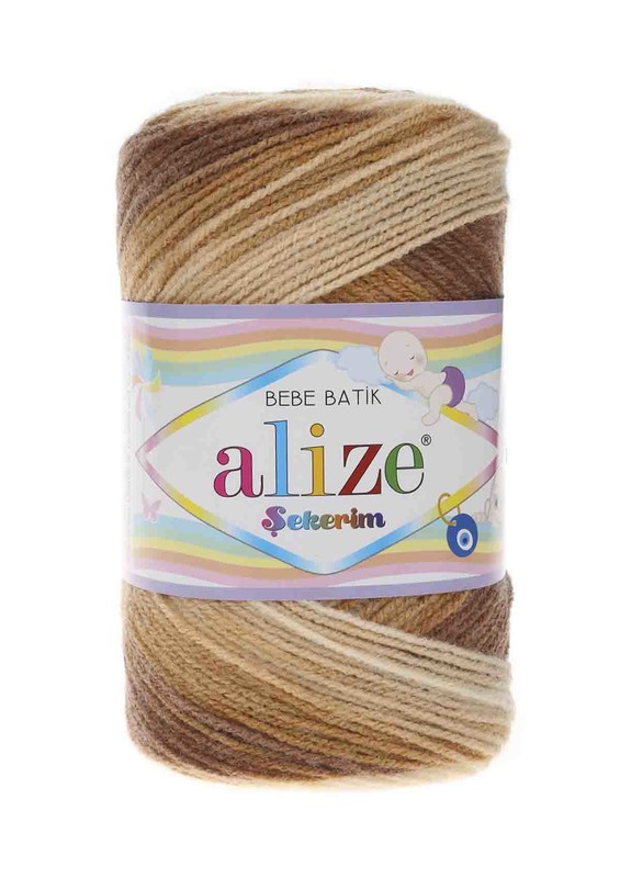 Alize - Alize Şekerim Batik El Örgü İpi 3050