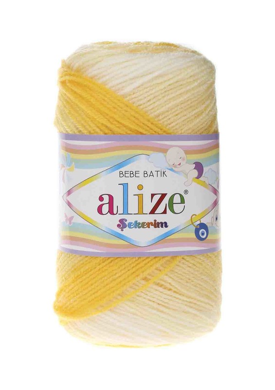 Alize - Alize Şekerim Batik El Örgü İpi 6318