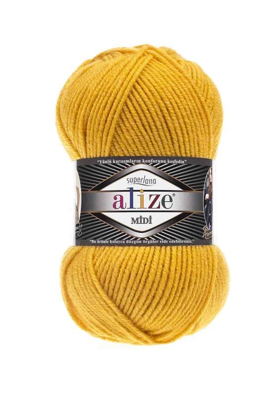 Alize - Alize Superlana Midi El Örgü İpi Sarı 488