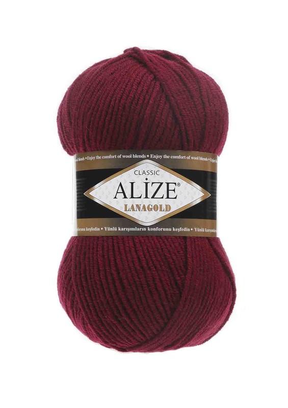 Alize - Alize Lanagold El Örgü İpi Bordo 057