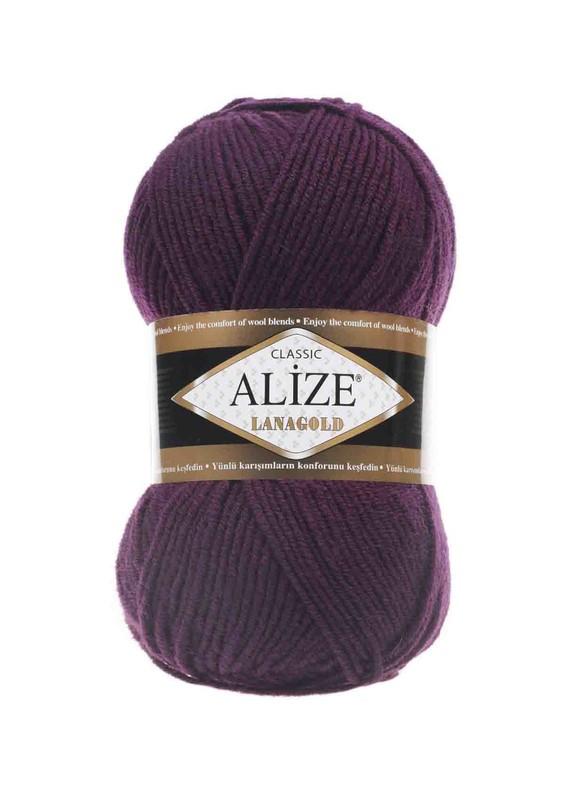 Alize - Alize Lanagold El Örgü İpi Mürdüm 111