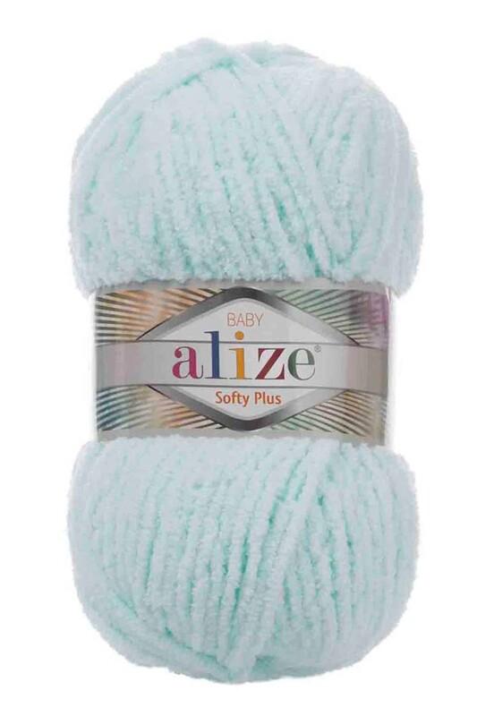 Alize - Alize Softy Plus El Örgü İpi Su Yeşili 015