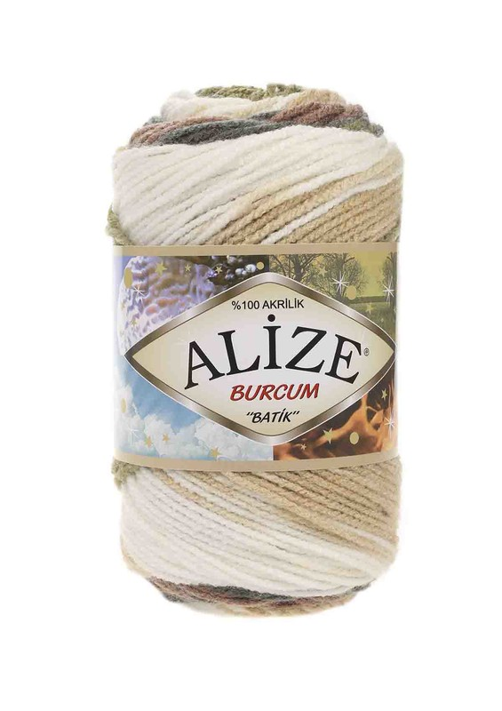 Alize - Alize Burcum Batik El Örgü İpi 1893