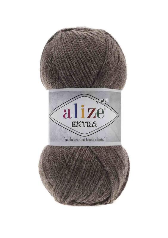 Alize - Alize Extra El Örgü İpi Kahve Melanj 240