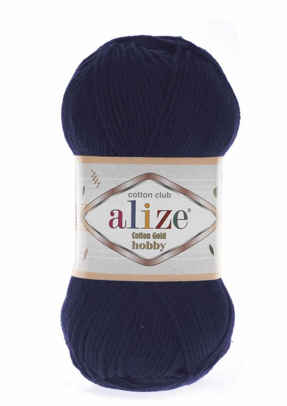 Alize - Alize Cotton Gold Hobby El Örgü İpi 50 gr Lacivert 058