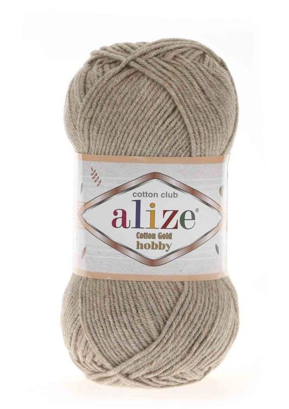 Alize - Alize Cotton Gold Hobby El Örgü İpi 50 gr Bej Melanj 152