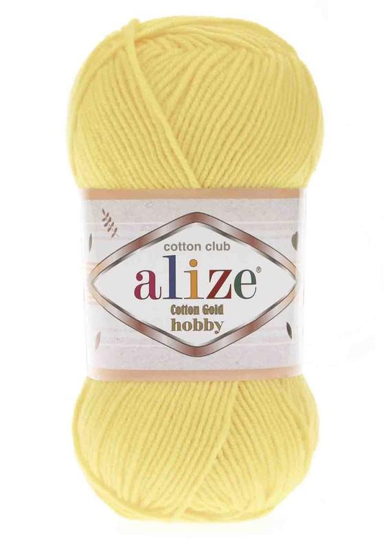 Alize - Alize Cotton Gold Hobby El Örgü İpi 50 gr Açık Sarı 187