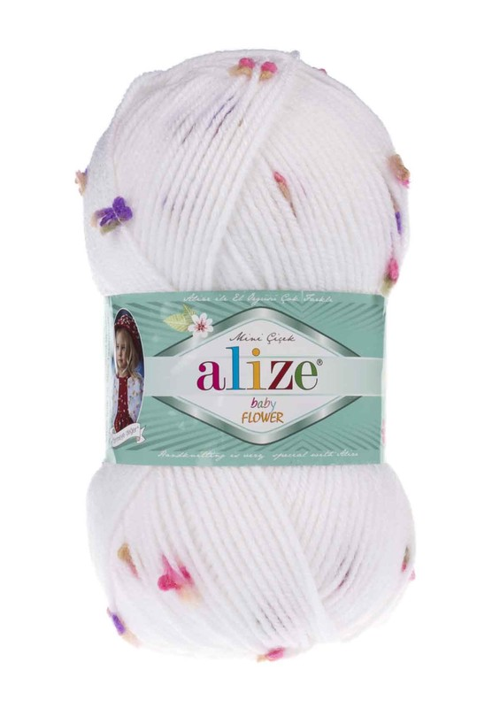 Alize - Alize Baby Flower El Örgü İpi 5872